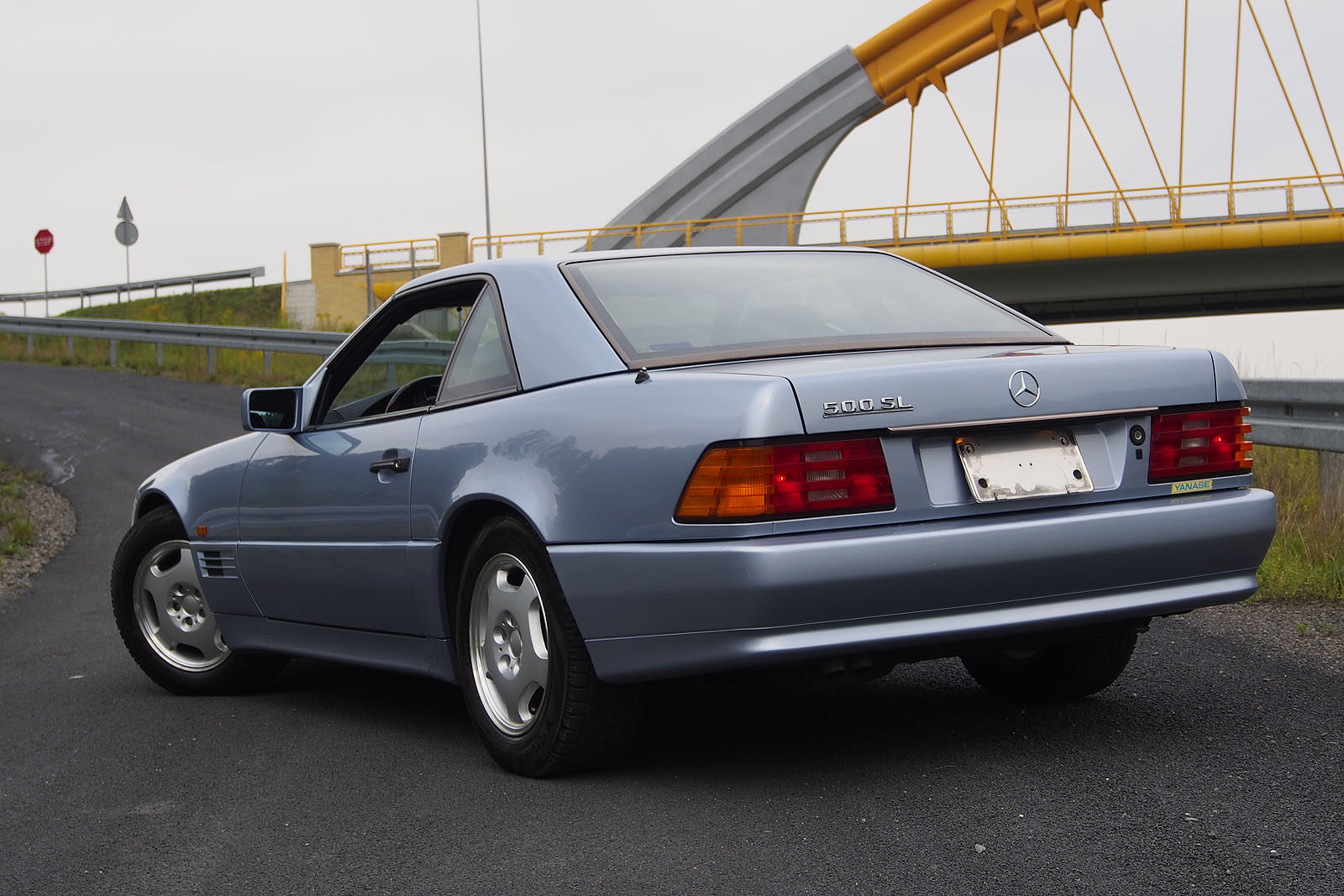 91 mercedes benz 500 sl nowex cars for Mercedes benz 500