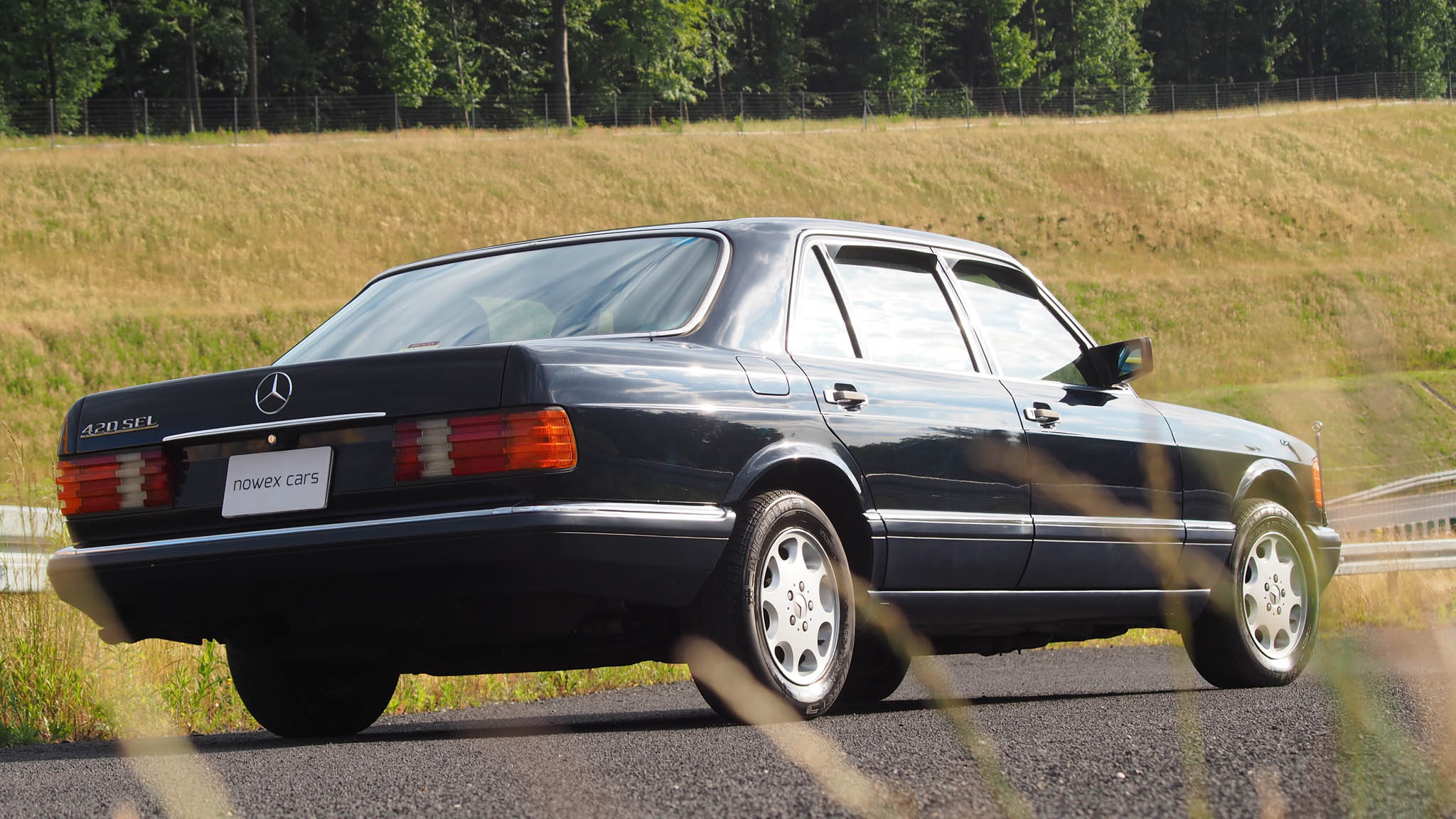 88 mercedes benz 420 sel nowex cars for Mercedes benz 420