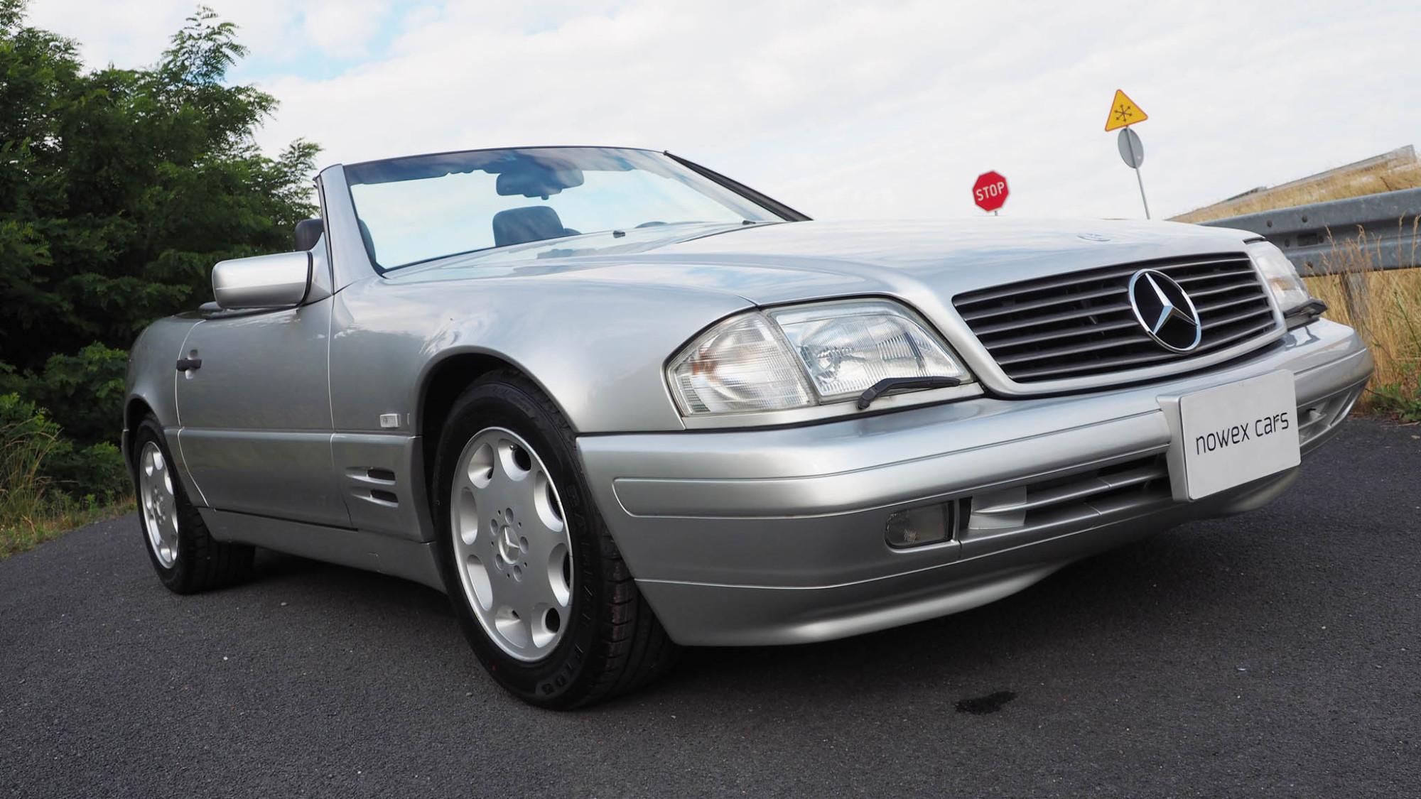 97 mercedes benz sl 320 nowex cars for 97 mercedes benz