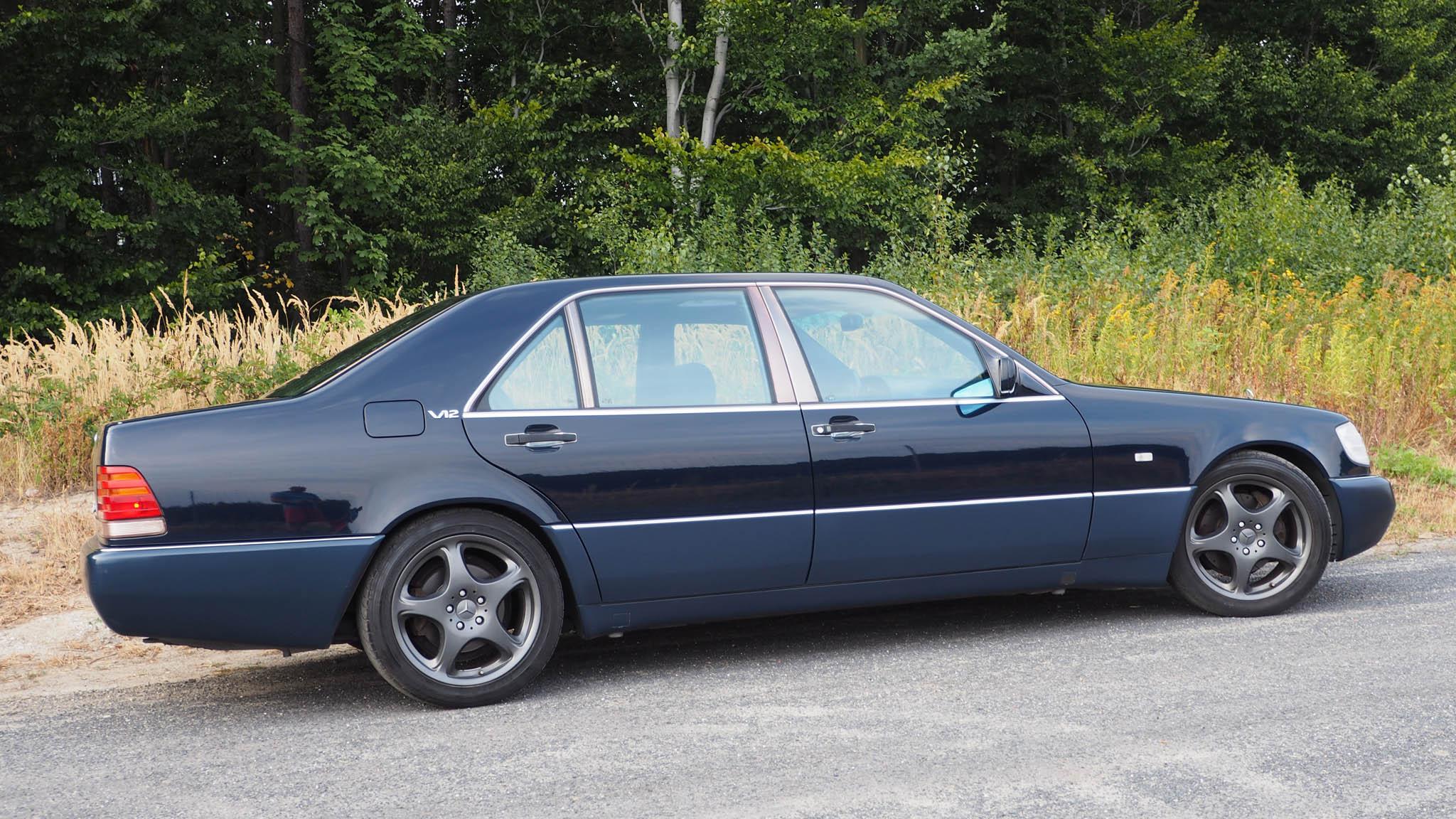 94 Mercedes Benz 600 Sel Nowex Cars