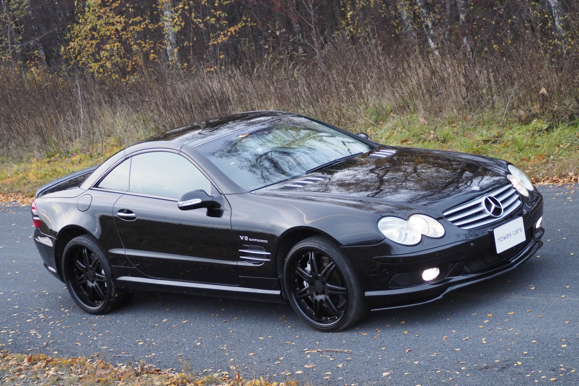 03 mercedes benz sl 55 amg nowex cars for Mercedes benz sl500 amg