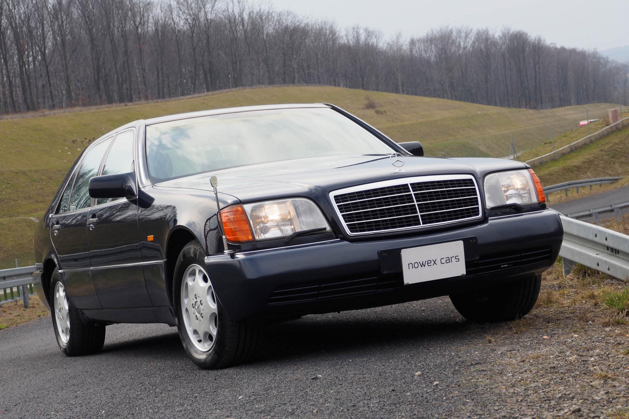 92 Mercedes Benz 600 Sel Nowex Cars