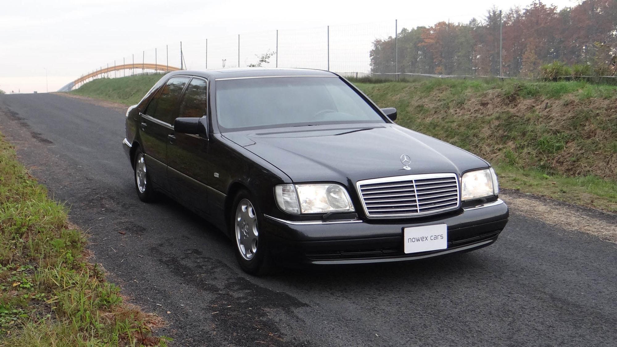 94 mercedes benz s 600 l nowex cars for Mercedes benz s600l