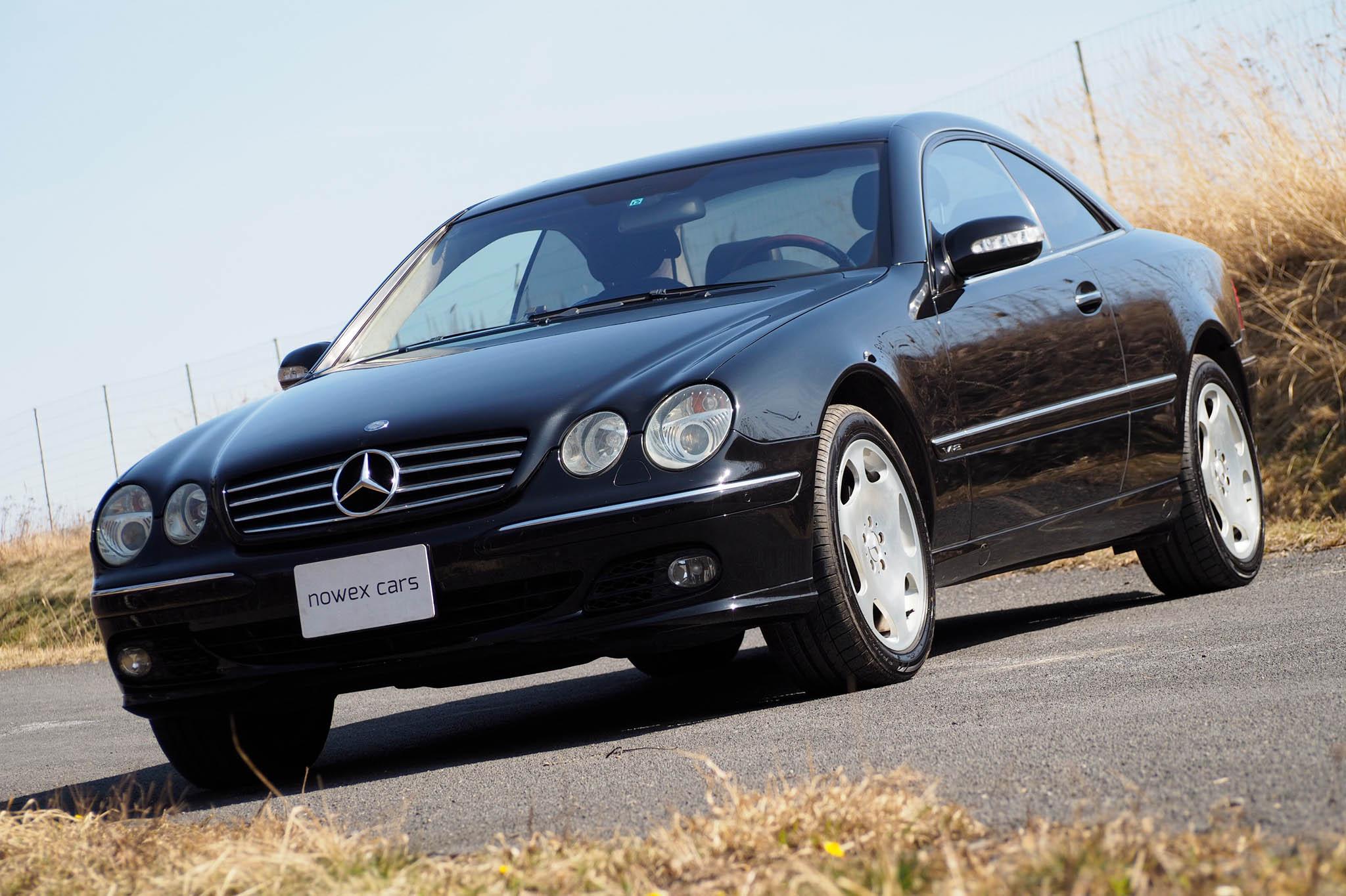 03 mercedes benz cl 600 v12 biturbo nowex cars. Black Bedroom Furniture Sets. Home Design Ideas